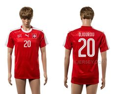 http://www.xjersey.com/switzerland-20-djourou-home-euro-2016-thailand-jersey.html Only$35.00 SWITZERLAND 20 DJOUROU HOME EURO 2016 THAILAND JERSEY Free Shipping!