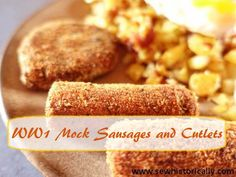 WW1 Mock Sausages An