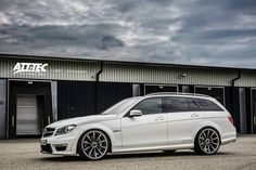 Mercedes-Benz C 63 AMG Estate by ATT-Tec GmbH