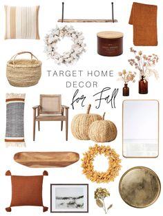Modern Fall Decor, Fall Home Decor, Autumn Home, Home Decor Trends, Joanna Gaines, Fall Apartment Decor, Fall Living Room, Target Home Decor, Autumn Decorating