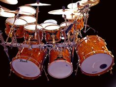 show all kits with an aux bass drum