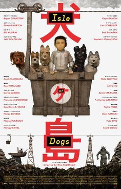 Do you remember Fantastic Mr. Fox? How about The Grand Budapest Hotel, Rushmore, The Royal Tenenbaums and The Darjeeling Limited? Isle of Dogs Movie is Wes Anderson's second stop-action film (after Fantastic Mr. Fox). It is scheduled for release in March 2018. Here is the official trailer.