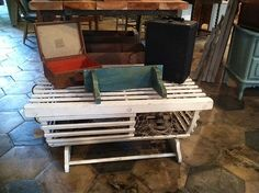 """lobster trap coffee table wine rack """"made in maine"""" on etsy"""