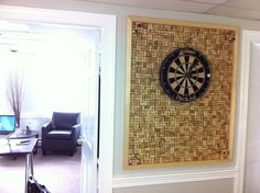 Upcycling corks as Dart backboard (2592×1936)