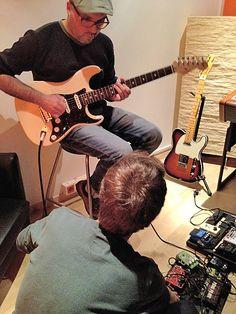 Producción musical de La Rueda y la Luna de Malaventura (indie rock Barcelona) en JK Music. www.guitarrec.com