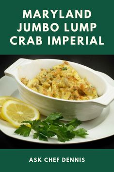 Looking for a great crab imperial recipe? Although some cooks look for imitation crab meat recipes, I prefer to get fresh Maryland Jumbo Lump Crabmeat. This classic seafood dish is easy to make and sure to please your guests. Lump Crab Meat Recipes, Crab Recipes, Easy Meat Recipes, Veggie Recipes, Cooking Recipes, Soup Appetizers, Appetizer Recipes, Italian Seafood Stew, Crab Imperial