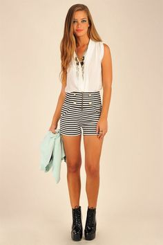 Stripes will be a popular trend this summer. You on board?