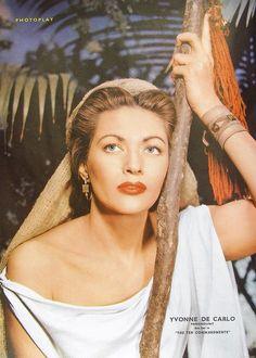 Yvonne De Carlo as Sephora in The Ten Commandments, 1956