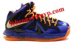 quality design 26344 bb0f3 Lebron X Playoffs LeBron 10 PS Elite Hyper Blue Total Orange Superhero