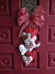 Decoração de natal para porta.