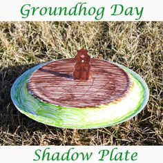 Groundhog Day Shadow Plate - We Made That
