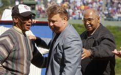 Ernie Banks dead at age 83, Mr. Cub famed for Let's Play Two enthusiasm; here's his career in photos with Ron Santo