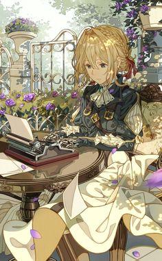 画像 : 《高画質 》ヴァイオレット エヴァーガーデン 画像まとめ  Violet Ever Garden - NAVER まとめ