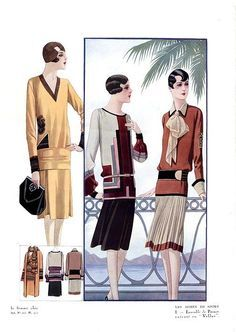 1920-е, dress of the day, fashion