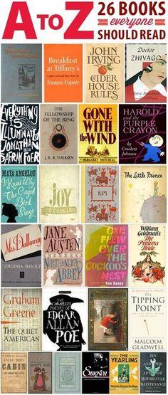26 Books Everyone Should Read