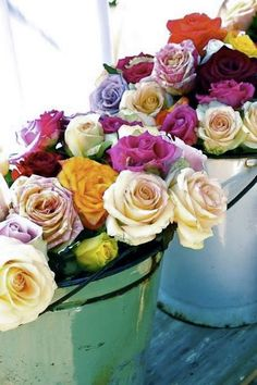 if there were that special someone. i would vase these everyday fill the home with color, scent and mood