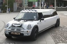 The 'World's Longest' MINI Cooper Limousine