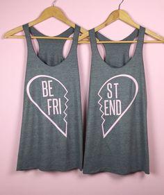 Best Friend Gifts. Best Friend Shirts. Best by TrexAndUnicorn