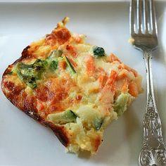 The Nesting Project: Vegetarian Breakfast Casserole recipe- Breakfast #freezercooking #vegetarian #breakfast