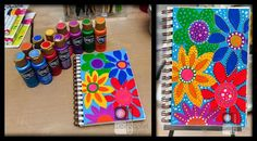 Doodling with Acrylic Paints by Tracy Weinzapfel