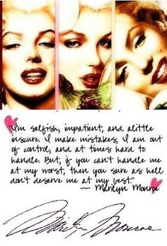 Love Quotes Pictures Images Free 2013: Marilyn Monroe Love Quotes