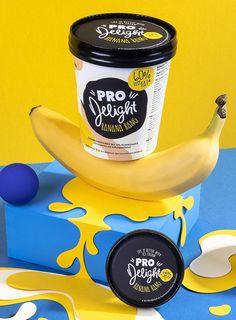 German Pro Delight Ice Cream Brand and Packaging Design / World Brand & Packaging Design Society