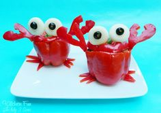 Crabby Stuffed Peppers and they are Easy To Make