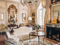 Belle Epoque, Classic Interior, Oversized Mirror, Dior, Christian, Cool Stuff, Furniture, Home Decor, Alcove