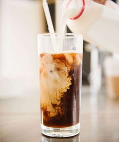 As soon as there's just ONE sunny day in March, we immediately switch back to iced coffee.