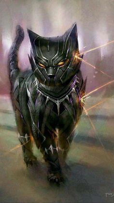 Cats Reimagined As Marvel And DC Superheroes By Fajareka Setiawan