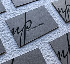 Letterpress business cards Letterpress Business Cards, Layout Design, Communication, Embossed Business Cards, Page Layout