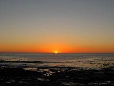 Sunset over the Kom, Kommetjie South Africa
