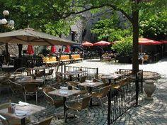 Commercial Design, Commercial Interiors, Courtyard Restaurant, Retail Space, Ottawa, Trip Advisor, Public, Patio, Outdoor Decor