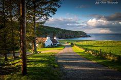 Pennan coastline, Aberdeenshire