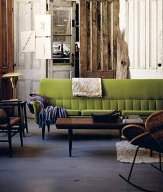 this couch! credit: Hans Blomquist book