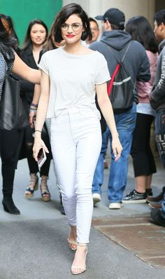You'll want to wear these celebrity skinny-jean outfits on repeat this summer. See them and shop skinny jeans that are perfect for summer here.