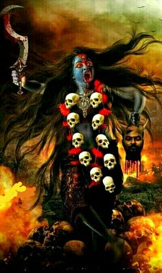 Alternative Ancient Anunnaki History Of The Indian Vimana Epics of the Ancient Alien Gods in India's Indus Valley in the Hindu Vimana Ramayana and Baharata Epics Maa Kali Images, Durga Images, Lord Shiva Hd Images, Kali Tattoo, Indian Goddess Kali, Durga Goddess, Indian Gods, Kali Hindu, Durga Maa