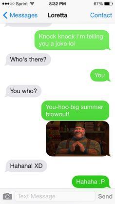 Frozen funny!