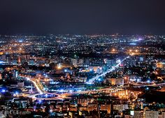 Damascus, Syria Ummayad Square from Mount Kassioun! hdr (by Usama Alshughry)