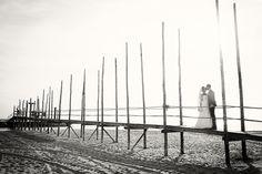 Trouwen op Texel,bruidsfotografie op een eiland,fotosessie op het strand