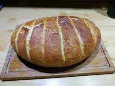 Házi kenyér jénaiban sütve! A friss, puha házi kenyérnél nincs is finomabb! Baking And Pastry, Baked Potato, Healthy Living, Bread, Cookies, Ethnic Recipes, Food, Basket, Healthy Life
