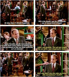 """When he showed up to coffee wearing the same outfit as his brother. 