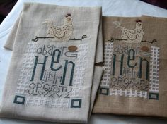 pattern--Hen, by Bent Creek