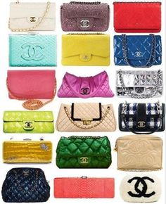 CHANEL  Shameless Chanel fanatic.  I'll know I've made it in life when I have a collection like this.