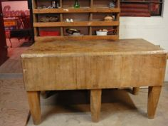 dbl butcher block-SOLD