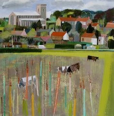 Salthouse Grazing by Mary Sumner