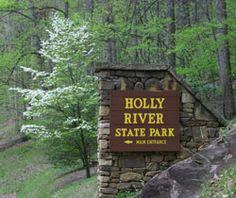Holly River State Park is located in Webster County, West Virginia. Over 8,000+ acres of state park to explore, makes Holly River SP the 2nd largest State Park in the state.