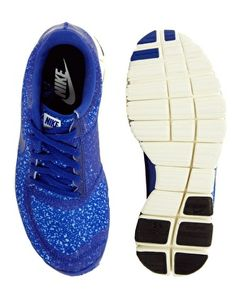 Image 4 of Nike Free Running 5.0 V4 Blue Trainers