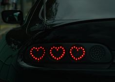 car, black, and heart image