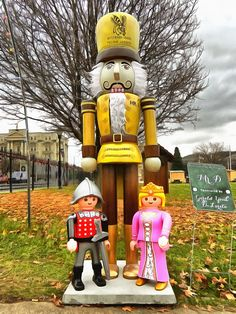 The Princess & the Knight at Nutcracker Village